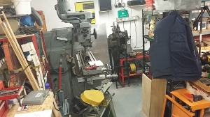 Workshop View - mill and shaper