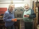 Grinning: First boiler tubed!