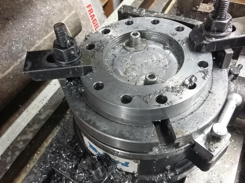 O-ring milling set up