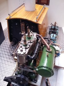 Boiler, Engine and Circulating Pump