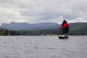 Running? downwind to Bowness
